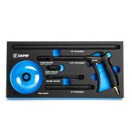 Capri Tools Windstorm EX High Performance Air Blow Gun, Master Set with Accessories