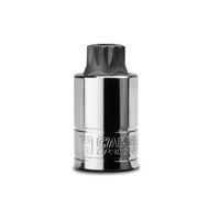 Capri Tools 16 mm MT16 Stubby XZN Triple Square Bit Socket, 1/2-Inch Drive