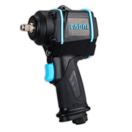 Capri Tools 1/2 in. Stubby Air Impact Wrench, 450 ft. lbs.