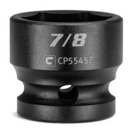 Capri Tools 7/8 in. Stubby Impact Socket, 1/2 in. Drive, 6-Point, SAE