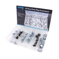 Capri Tools 30-Piece Oil Drain Plug Kit Assortment