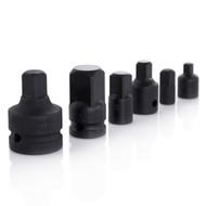Capri Tools 6-Piece Impact Socket Adapter and Reducer Set