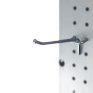 Capri Tools Heavy Duty 4-Inch Metal Peg Board Hooks, 25-Pack