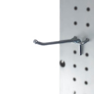 Capri Tools Heavy Duty 4-Inch Metal Peg Board Shelving Hooks, 50-Pack