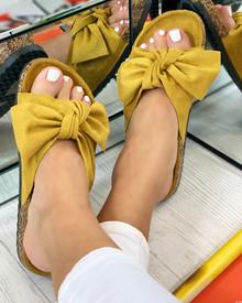 Resort Plan Bow Sliders In Yellow