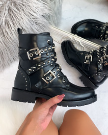 Selia Ankle Boots in Black