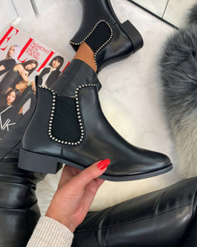Alena Chelsea Ankle Boots in Black