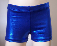 Perfectly priced royal blue mystique spandex gymnastics and/or dance shorts.