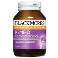 Reme-D for Migraine Headache 60 Tabs Blackmores