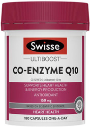 Co-Enzyme Q10 150mg 180 Caps Swisse UltiBoost