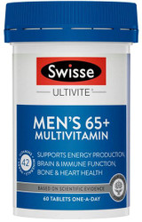 Ultivite Men's 65+ Multivitamin 60 tabs Swisse
