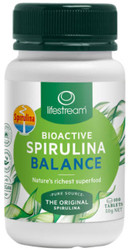 Bioactive Spirulina Balance 100 Tabs 500mg Lifestream