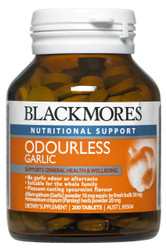 Garlic Odourless Tablets 200  Blackmores