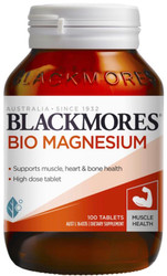 Bio Magnesium Tablets 100  Blackmores