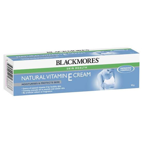 Natural Vitamin E Cream 50g Blackmores