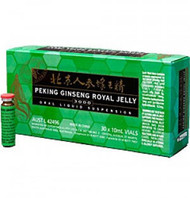 Royal Jelly 2000mg/Ginseng 1000mg 30x10ml vials Peking