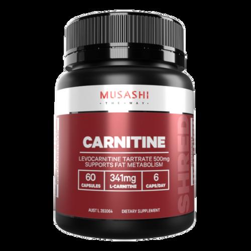 Carnitine 60 caps Musashi