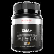 ZMA+ Zinc, Magnesium, Manganese 60 caps Musashi