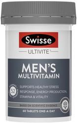 Ultivite Men's MultiVitamin 60 Tabs Swisse