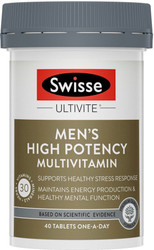 Men's High Potency Multivitamin 40 tabs Swisse Ultivite