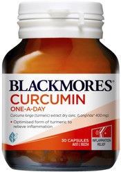 Curcumin One-A-Day 30 Caps Blackmores