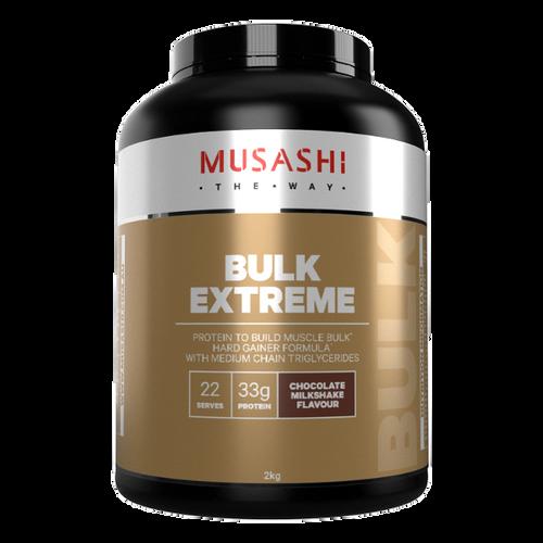 Bulk Extreme Chocolate 2kg Musashi