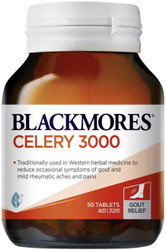 Celery 3000 50 Tablets x 30 Blackmores - Box 30x units - Save !