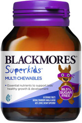 Superkids Multi Chewables 60s Blackmores