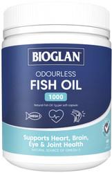 Fish Oil Odourless 1000mg 400 Caps x 3 Pack Bioglan