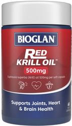 Red Krill Oil Triple Action 500mg 60 Caps x 3 Pack Bioglan