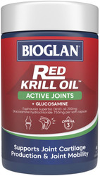 Red Krill Oil Active Joints 60 Caps x 3 Pack Bioglan