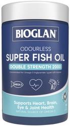 Odourless Super Fish Oil 2000mg 200 Caps x 3 Pack Bioglan