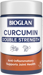 Curcumin Double Strength 1200mg 40 Tabs x 3 Pack Bioglan