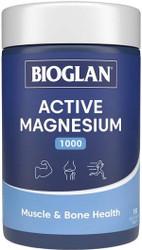 Active Magnesium 1000 150 Tabs x 3 Pack Bioglan