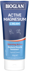 Magnesium Active Cream 100g x 3 Pack Bioglan