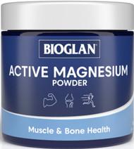 Magnesium Active Powder 200g x 3 Pack Bioglan