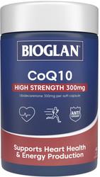 CoQ10 300mg 60 Caps x 3 Pack Bioglan