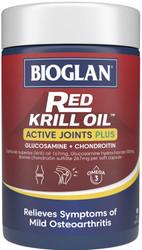 Red Krill Oil Active Joints Plus 90 Caps x 3 Pack Bioglan