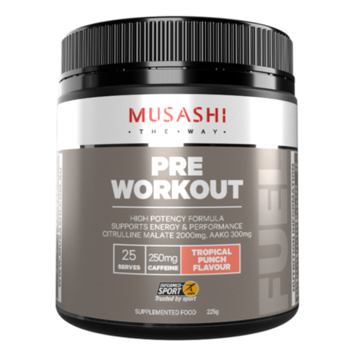 Pre-Workout Tropical Punch 225g Musashi