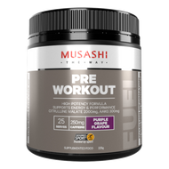 Pre-Workout Purple Grape 225g Musashi
