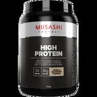 High Protein Vanilla Milkshake 900g Musashi