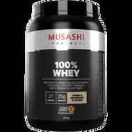 100% Whey Vanilla 900g Musashi