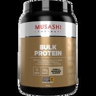 Bulk Protein Vanilla 900g Musashi