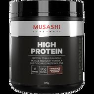 High Protein Chocolate Milkshake 375g Musashi