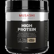 High Protein Vanilla Milkshake 375g Musashi
