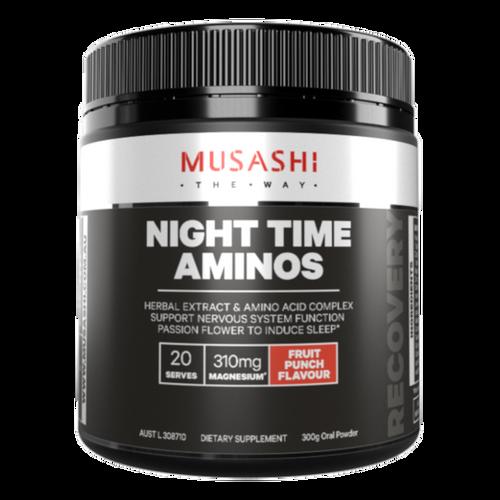 Night Time Aminos 300g Musashi