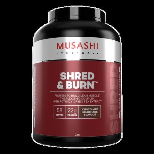 Shred and Burn Protein Chocolate 2kg Musashi