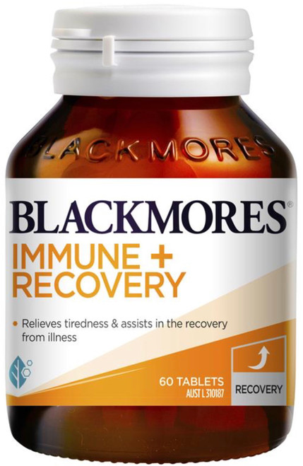 Immune + Recovery 60 Tablets Blackmores
