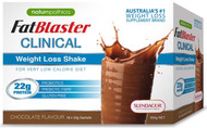 FatBlaster Clinical Chocolate Shake 18x53g x 2 Pack Naturopathica