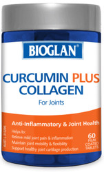 Curcumin Plus Collagen For Joints 60 Caps x 3 Pack Bioglan
